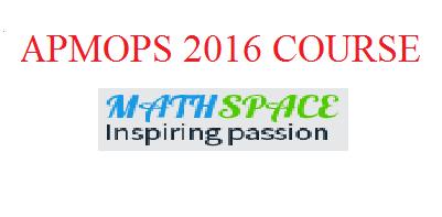 Đề thi thử Toán Châu Á Thái Bình Dương APMOPS 2016 - lần 1
