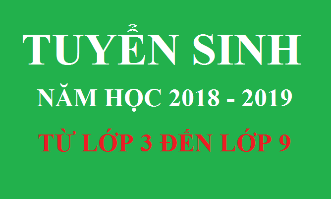 THÔNG BÁO TUYỂN SINH CÁC KHỐI LỚP CLB MATHSPACE NĂM HỌC 2018 - 2019