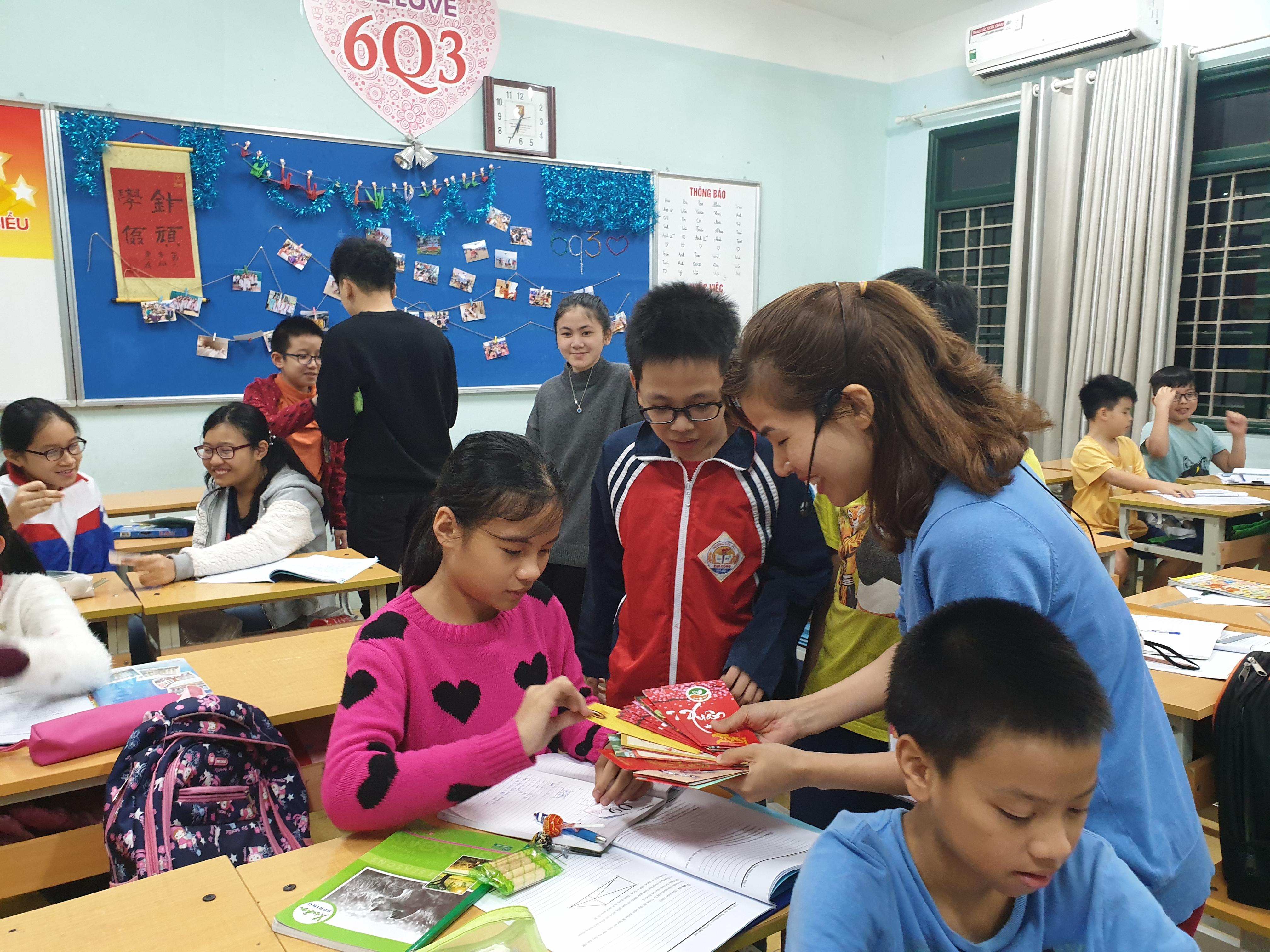 Buổi học học đầu tiên trong năm mới 2019 của các con học sinh tại CLB MathSpace