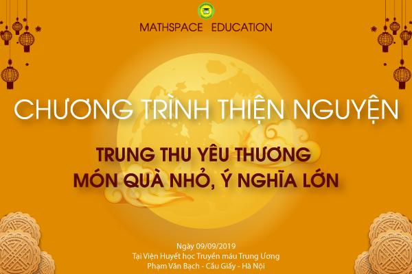 THÔNG TIN VỀ CHƯƠNG TRÌNH TỪ THIỆN TRUNG THU 2019